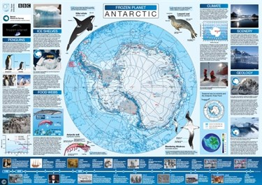 Open University Frozen Planet poster